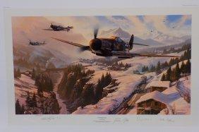 Nicholas Trudgian - Winter Patrol Artist's Proof 94/125