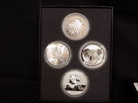 2014 World Silver Dollar Collection (4) China Panda,