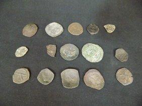 15 Various Byzantine Coins, Nice Variety