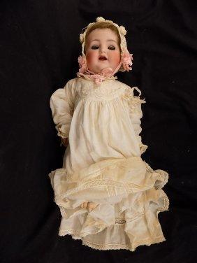 Antique German Bisque Doll Simon & Halbig #126 - 17