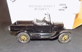 Danbury Mint 1925 Ford Model T Runabout 1:24 Scale W