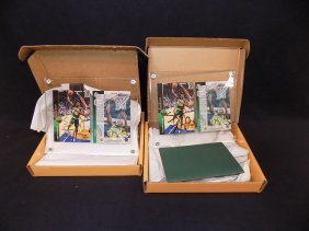 (2) Shawn Kemp Uda Upper Deck Authenticated Autographed