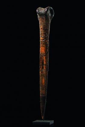 Bone Dagger - Papua New Guinea - Wosera