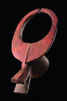"""Zoomorphic Mask """"mangam"""" - Nigeria, Mama"""