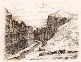 Saumarez River. North Pole. 1836.