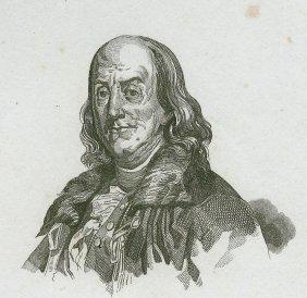 Franklin. Usa. 1837.
