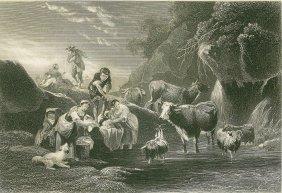 Berchem. Water Reservoir. Netherlands. 1874.