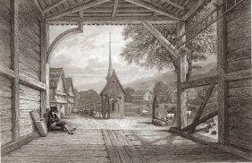 The Former Goldau. Switzerland. 1838.