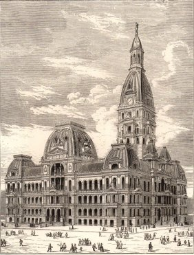 The City Hall. Chicago. 1880.