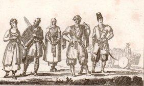 Caucasian Costumes. Europe/asia. 1835 - 1841.