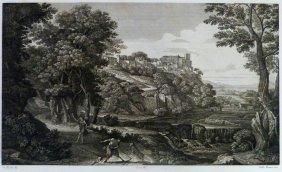 Gaspard Poussin. Iv Landscape. France/italy. 1842.