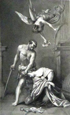 Orazio Riminaldi. Martyrdom Of Saint Cecilia. Italy.
