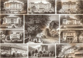Suvenir Of Interlaken. Switzerland. 1867.