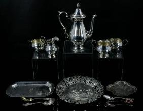 Lot Of Dutch Sterling Silver