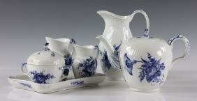 Lot Of Royal Copenhagen Blue And White China