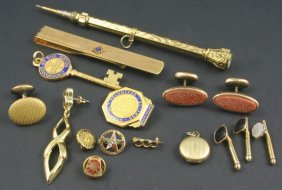 Assorted Gold Fill Jewelry