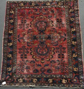 "20th Century Persian Lillihan Carpet, 6' 3"" X 5'"