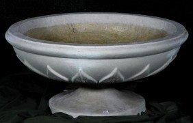English Dry Cast Limestone Planter