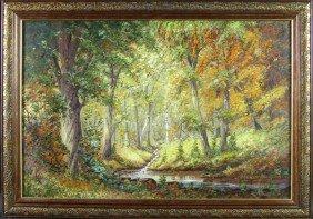 Ogden, Forest Landscape, O/C