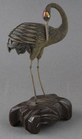 Chinese Silver Crane