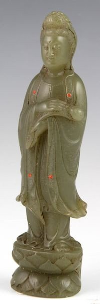 Chinese 19th C. Guan Yin