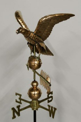 20th C. Eagle Weathervane