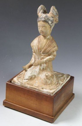 Tang Dynasty Chinese Pottery Figure