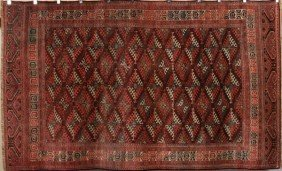 Old Turkoman Yamud Rug