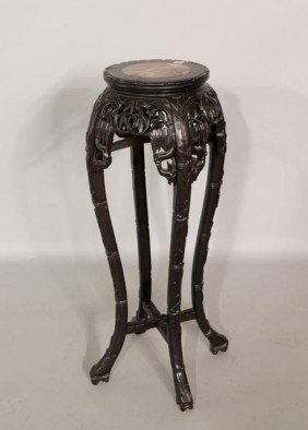 19th C. Chinese Rosewood Stand