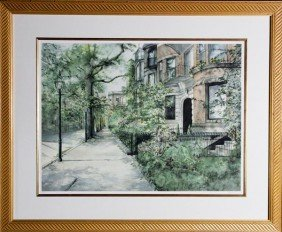 Lefkovich, Boston Public Gardens, Print