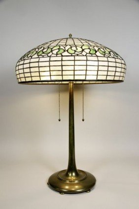 Bigelow Kennard Glass Table Lamp