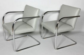 Pair Of Thonet BRNO Style Chairs