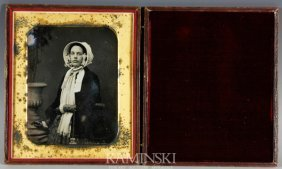 Daguerreotype Of A Woman