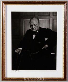 Karsh, Winston Churchill, Photograph