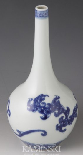 Kangxi Period Blue And White Vase