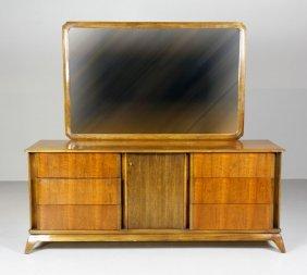 Northern Furniture pany Hi Boy 5 Drawer Dresser Lot 148