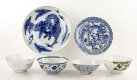 Lot Of 19th C. Chinese Porcelain