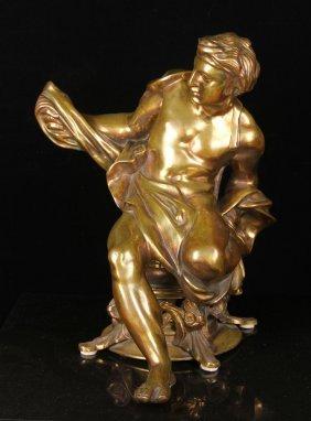 Bronze Figure Of A Roman