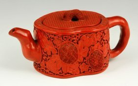 Chinese Pottery Teapot