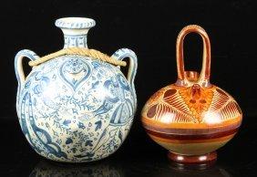 2 Ceramic Pottery Vessels