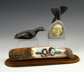Collection Of Inuit Carvings