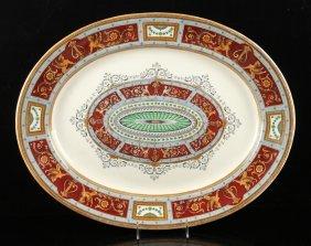 19th C. English Platter