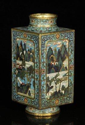Chinese Cloissone Vase
