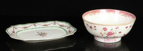 Two Chinese Export Porcelain Wares