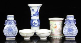 Six 18th/19th C. Chinese Porcelain Items