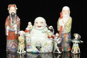 6 Porcelain Figures