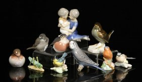 Group Of Assorted Porcelain Figurines