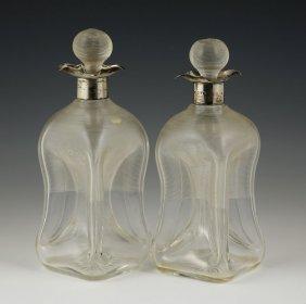 Pr. English Pinch Bottles