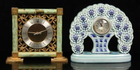 Two Early 20th C. French Clocks