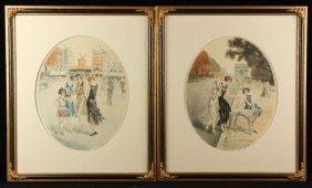 Gibson, View Of Paris, Print